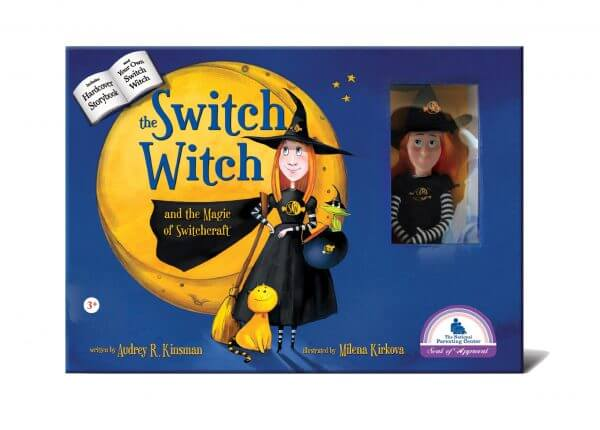Switch witch box with doll